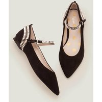 Nella Jewelled Flats Black Women Boden, Black