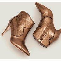 Boden Elystan Ankle Boots Gold Women Boden, Gold