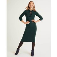 Layla Ponte Dress Green Women Boden, Navy