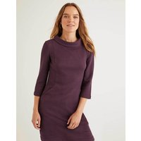 Andrea Jacquard Tunic Purple