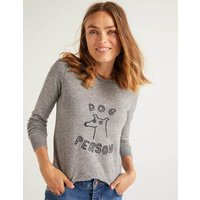 Estella Jumper Grey Women Boden, Grey