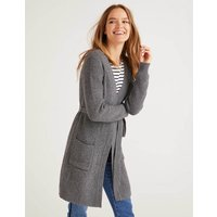 Cara Cardigan Grey Women Boden, Black