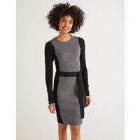 Rosa Dress Grey Women Boden, Black