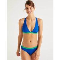 Paros Bikini Top Blue Women Boden, Blue