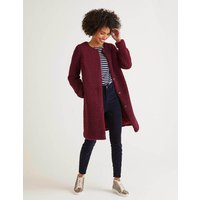 Ranfurly Teddy Coat Purple Women Boden, Purple