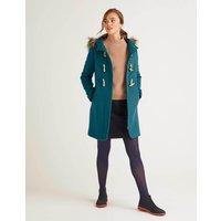 Bronte Duffle Coat Blue Women Boden, Blue