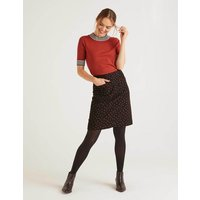 Bay Mini Skirt Black Women Boden, Red