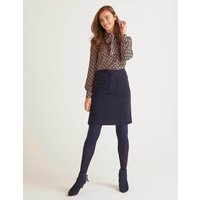 Bay Mini Skirt Navy Women Boden, Navy
