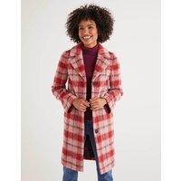 Boudica Coat Multi Women Boden, Pink