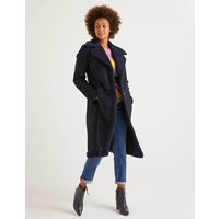 Bell Teddy Lined Coat Navy Women Boden, Navy
