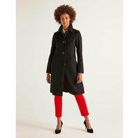 Wilbraham Coat Black Women Boden, Black