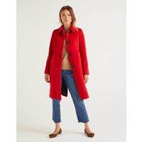 Wilbraham Coat Red Women Boden, Red