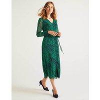Hazel Midi Dress Green Women Boden, Green