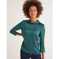Lily Top Green Women Boden, Green