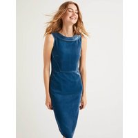Velvet Seam Detail Martha Blue Women Boden, Blue