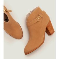 Stratford Ankle Boots Brown Women Boden, Camel