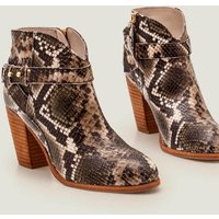 Stratford Ankle Boots Grey Women Boden, Multicouloured