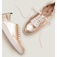 Emily Trainers Gold Women Boden, Gold