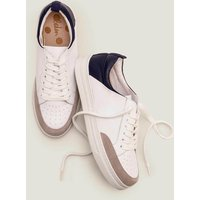 Emily Trainers Navy Women Boden, Grey