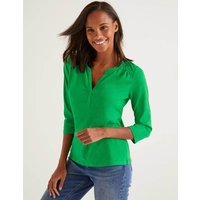 Boden The Cotton Notch Tee Green Women Boden, Green