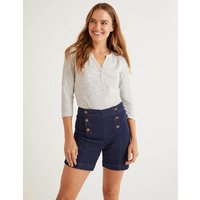 The Cotton Notch Tee Navy Women Boden, Navy