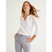 The Cotton Notch Tee White Women Boden, White
