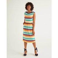 Eleanor Jersey Dress Multi Women Boden, Multicouloured