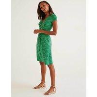 Lola Jersey Dress Green Women Boden, Green
