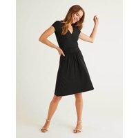 Lola Jersey Dress Black Women Boden, Black