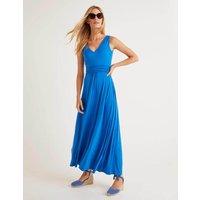 Sienna Jersey Maxi Dress Bold Blue Women Boden, Bold Blue