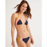 String Bikini Top Yellow Women Boden, Multicouloured