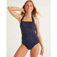 Santorini Swimsuit Navy Women Boden, Navy
