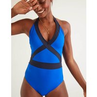 Kefalonia Swimsuit Blue Women Boden, Blue