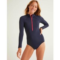 Boden Valletta Swimsuit Navy Women Boden, Navy