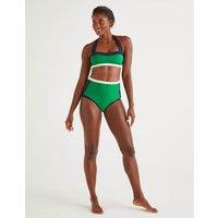 Boden Santorini Bikini Top Green Women Boden, Green