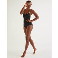 Palermo Swimsuit Black Women Boden, Black