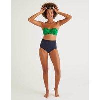 Samos Cup-size Bikini Top Green Women Boden, Green