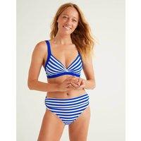 Talamanca Bikini Top Blue Women Boden, Blue