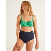 High Waisted Bikini Bottoms Navy Women Boden, Navy