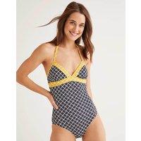 Patmos Swimsuit Navy, Link Hotchpotch Women Boden, Navy, Link Hotchpotch
