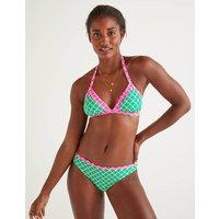 Boden Patmos Halterneck Bikini Top Green Women Boden, Green