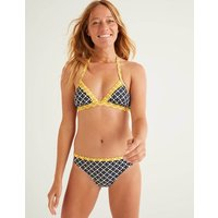 Patmos Halterneck Bikini Top Navy Women Boden, Navy