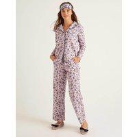 Boden Janie Pyjama Shirt Pink Women Boden, Pink