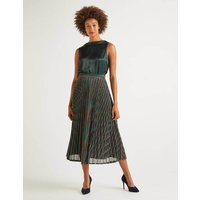 Beatrice Pleated Skirt Multi Women Boden, Multicouloured