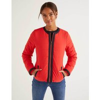Fildes Puffer Jacket Red Women Boden, Navy