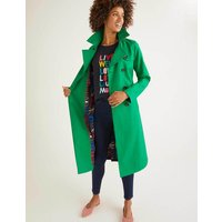 Franklin Trench Coat Green Women Boden, Green