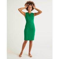Emerald Green Helena Cotton Chino Dress Green Women Boden, Green