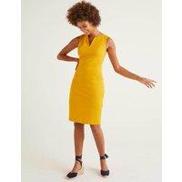 Helena Chino Dress Yellow Women Boden, Yellow