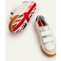 Leather Low Tops White Boden, White