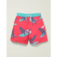 Bathers Red Boys Boden, Coral